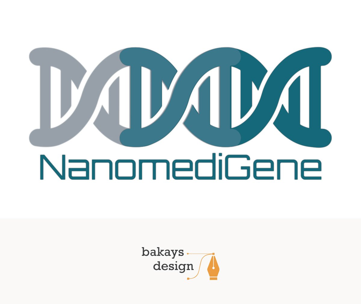 bakays design logo nanomedigene